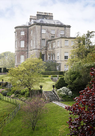 Side view of Penrice Castle